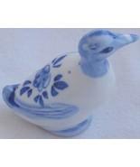 Duck   porcelain  miniature - $12.00