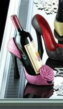 10017682Accent Plus Pink Rose Wine Bottle Holder - $18.95