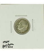 1964  United States Roosevelt Dime 90% Silver Rating : (XF) Extremely Fine - €1,11 EUR