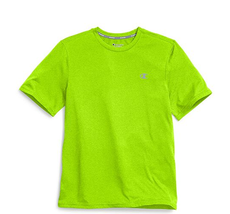 Champion Double Dry® Men's Heather Tee, Lime Green, Md - $16.82