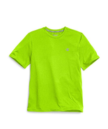 Champion Double Dry® Men's Heather Tee, Lime Green, Md - $19.79