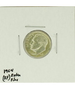 1964  United States Roosevelt Dime 90% Silver Rating : (XF) Extremely Fine - £0.85 GBP