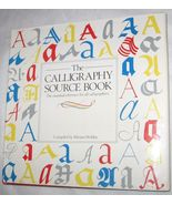 Calligraphy Source Book by Miriam Stribley 1986, Hardcover Free Shipping... - $11.94