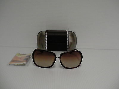 Authentic true religion sunglasses women square tortoise frame brown lenses 0a30327c547d