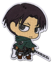 Attack on Titan SD Levi Iron on Patch GE44794 *NEW* - $7.99