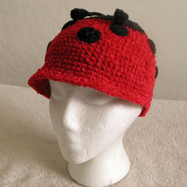 Primary image for Ladybug Hat for Children - Animal Hats - Small