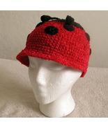 Ladybug Hat for Children - Animal Hats - Large - $16.00