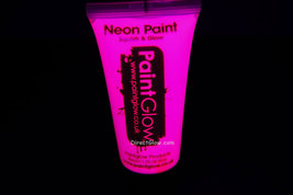 PaintGlow 50ml/1.7oz Neon Pink Blacklight Reactive Face and Body Paint - $9.95
