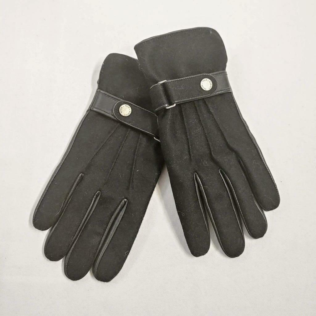 Polo Ralph Lauren Soft Leather 3M Thinsulate Men/'s Gloves Size Small