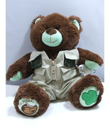 Build a Bear Girl Scouts Thin Mint Cookie + Fishing Gear and Fish in Han... - $34.99