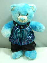 Build A Bear Teddy Bakeshop Blue Sprinkles Doug... - $29.99