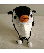 Penguin Hat w/Ties for Children - Animal Hats - Small - $16.00