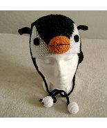 Penguin Hat w/Ties for Children - Animal Hats - Medium - $16.00