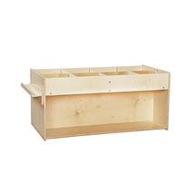 Contender Kids Home School Furniture C74400F Mobile Book Organizer Assembled - $424.38