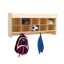 Contender Kids Furniture Wall Locker and Cubby Storage without Trays Assembled - $335.08