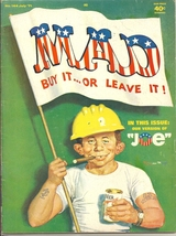 (CB-13) 1971 Mad Magazine #144 - 'Average JOE' cover - $19.00