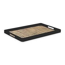 Kraftware Woven Desert Handled Serving Tray in ... - $34.99
