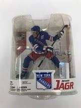 2007 Todd McFarlane NHL Hockey Series 16 Jaromir Jagr NY Rangers SIGNED - $99.00