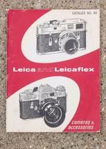 Vintage Leica Camera Lens Catalog 1967 g25 - $53.70