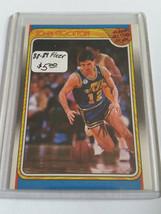 1988-89 Fleer #127 John Stockton AS : Utah Jazz Rookie Year - $3.75