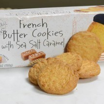 French Butter Cookies with Sea Salt and Caramel - 1 box - 5.29 oz - $6.15