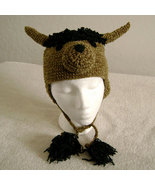 American Bison Hat w/Ties for Children - Animal Hats - Small - $16.00