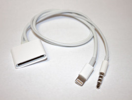 8 Pin 3.5mm to 30 Pin Audio Adapter Cable For iPhone5 5S 6 Plus iOS7.0/8... - $6.92