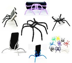 Spider Flexible Grip Holder Stand Mount for iPhone SAMSUNG Phone [Multi ... - $4.99