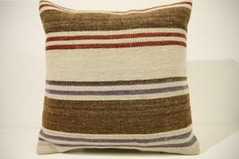Kilim Pillows | 16x16 | Turkish pillows | 1527 | Accent Pillow,Decorativ... - $35.00