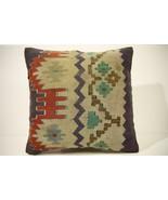 Kilim Pillows | 16x16 | Turkish pillows | 1529 | Accent Pillow,Decorativ... - $42.00