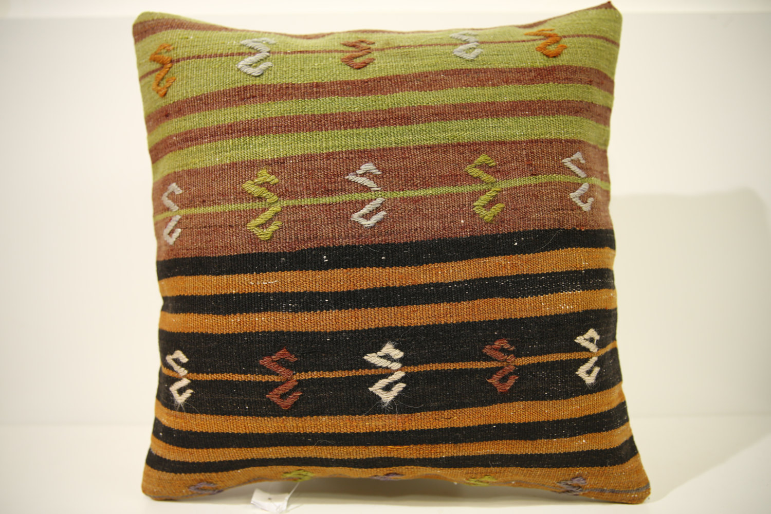 Kilim Pillows | 16x16 | Turkish pillows | 1520 | Accent Pillow,Decorative Pillow