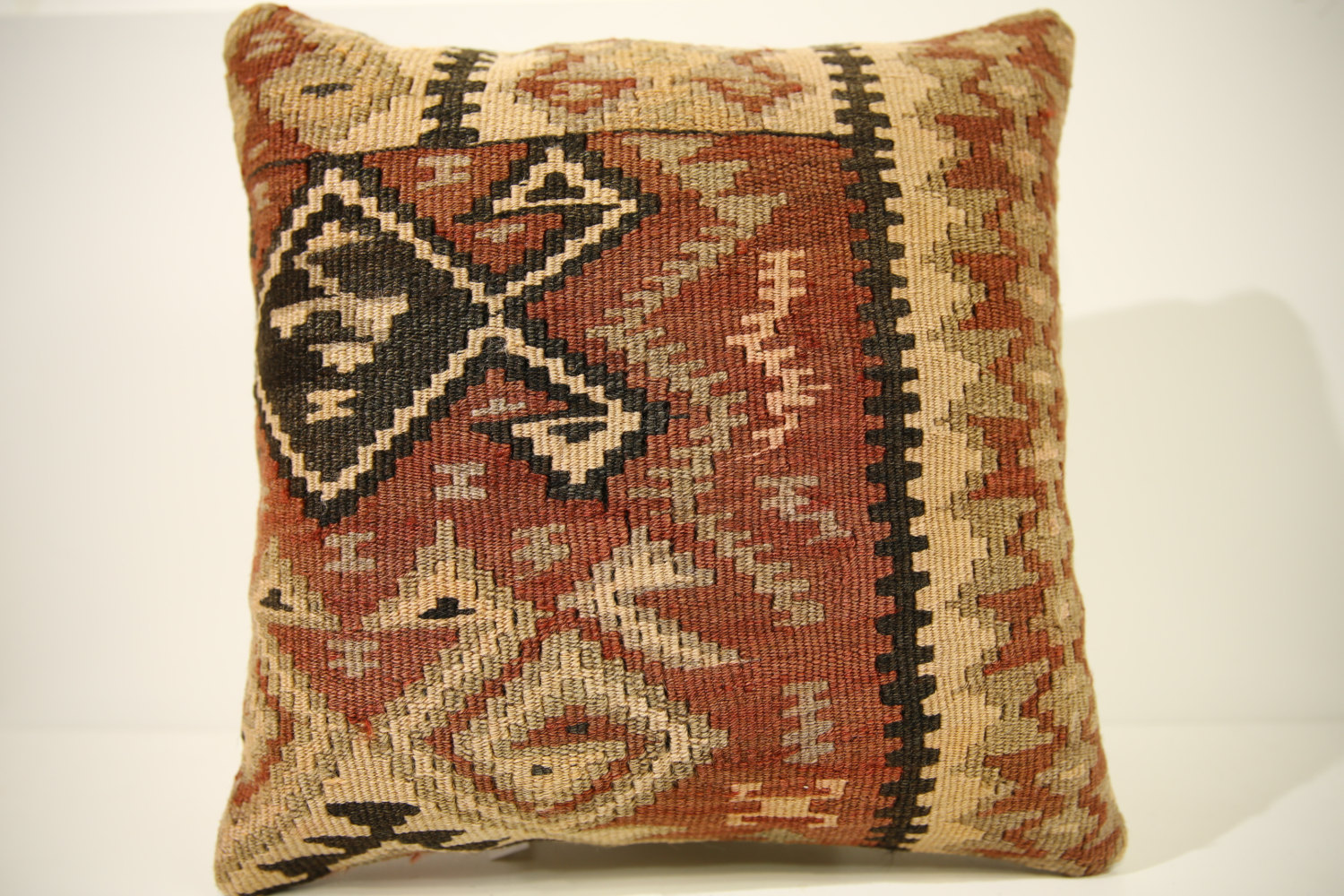 Kilim Pillows | 16x16 | Turkish pillows | 1519 | Accent Pillow,Decorative Pillow