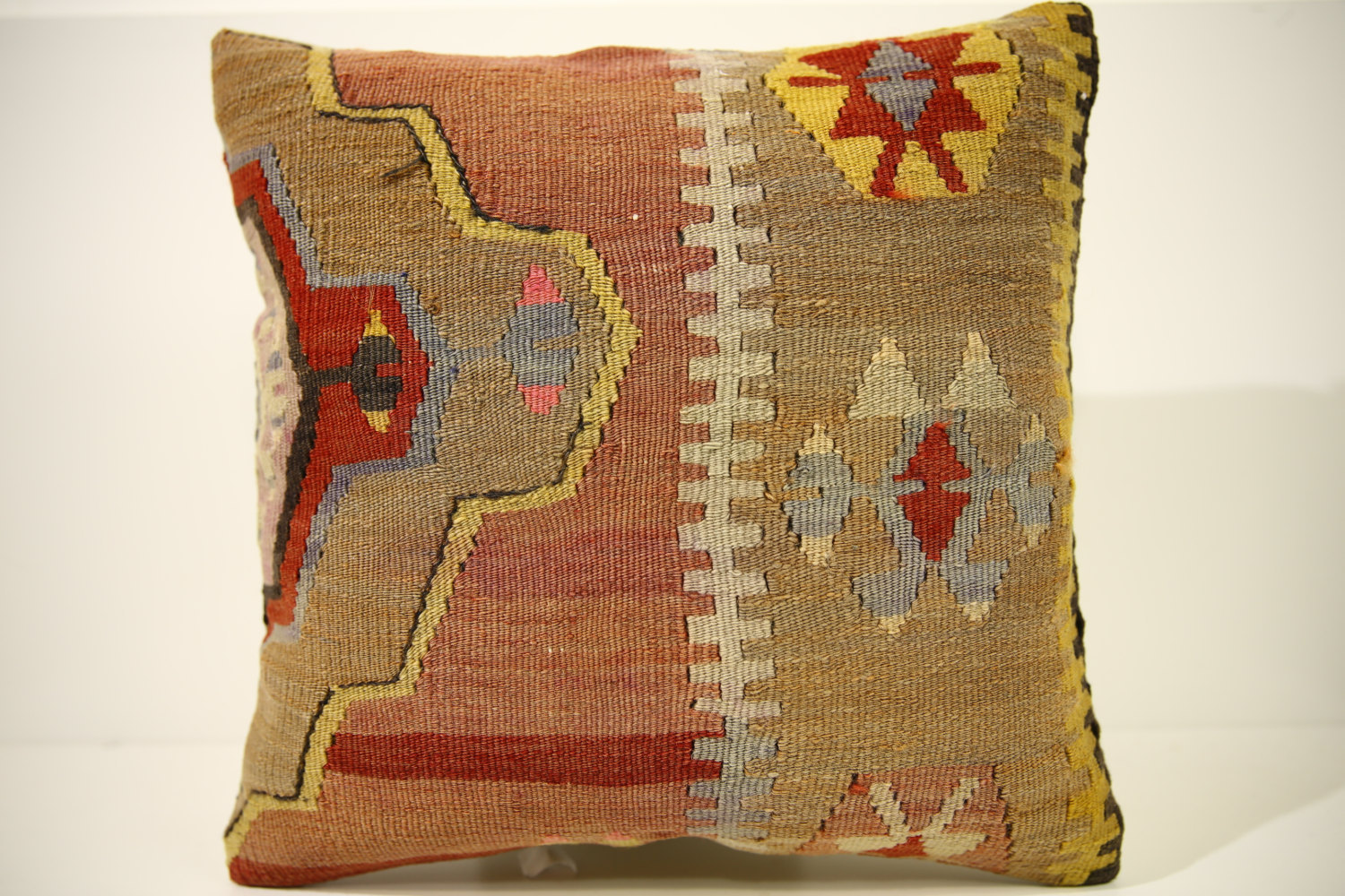 Kilim Pillows | 16x16 | Turkish pillows | 1514 | Accent Pillow,Decorative Pillow