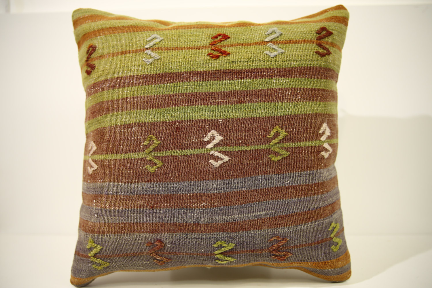 Kilim Pillows | 16x16 | Turkish pillows | 1513 | Accent Pillow,Decorative Pillow