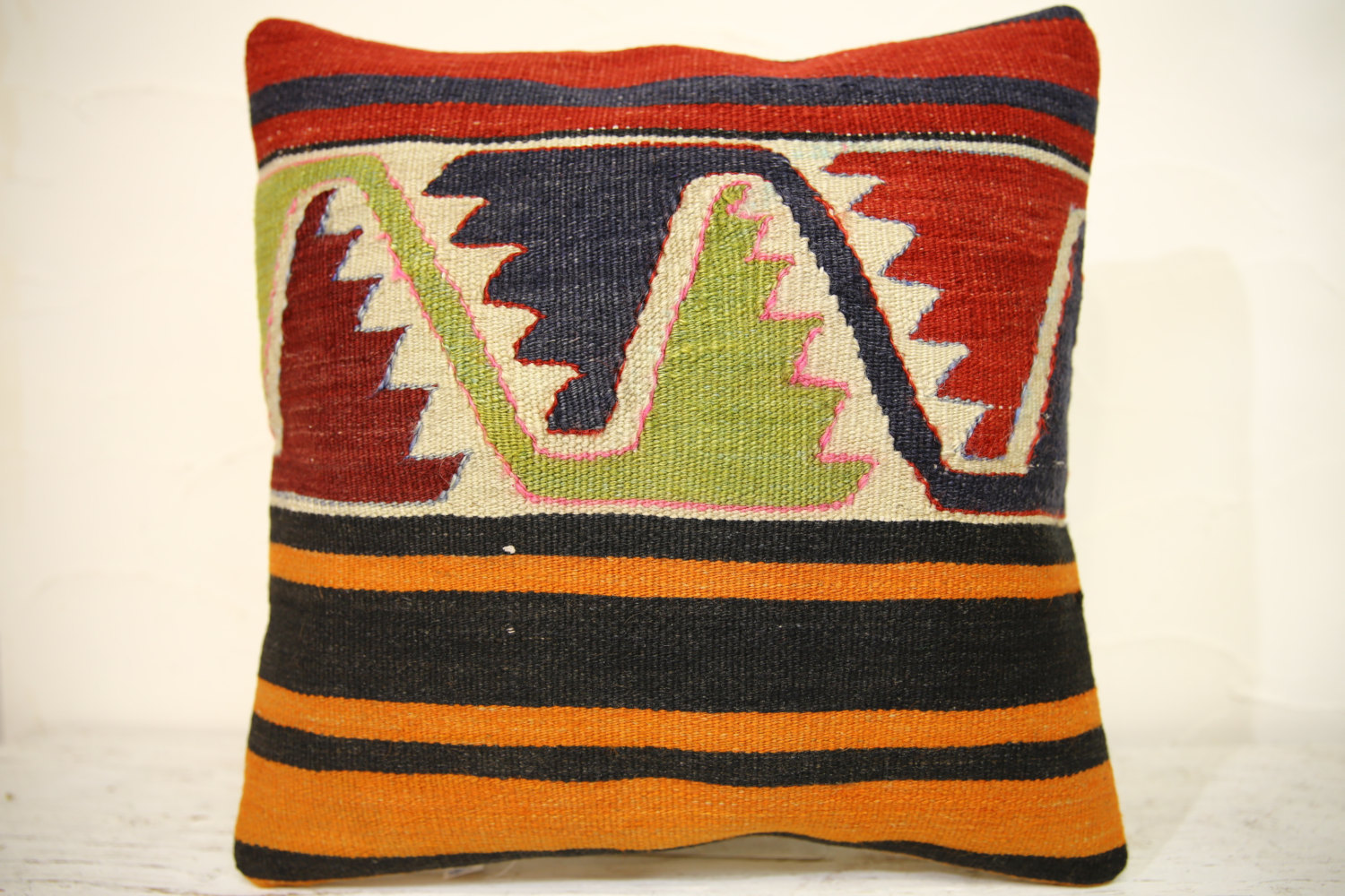 Kilim Pillows | 16x16 | Turkish pillows | 1333 | Accent Pillow,Decorative Pillow