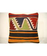 Kilim Pillows | 16x16 | Turkish pillows | 1333 | Accent Pillow,Decorativ... - $42.00