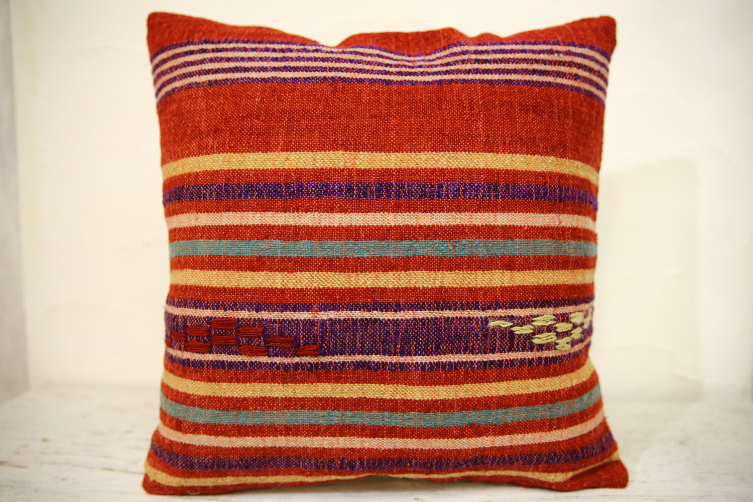 Kilim Pillows | 16x16 | Turkish pillows | 1306 | Accent Pillow,Decorative Pillow
