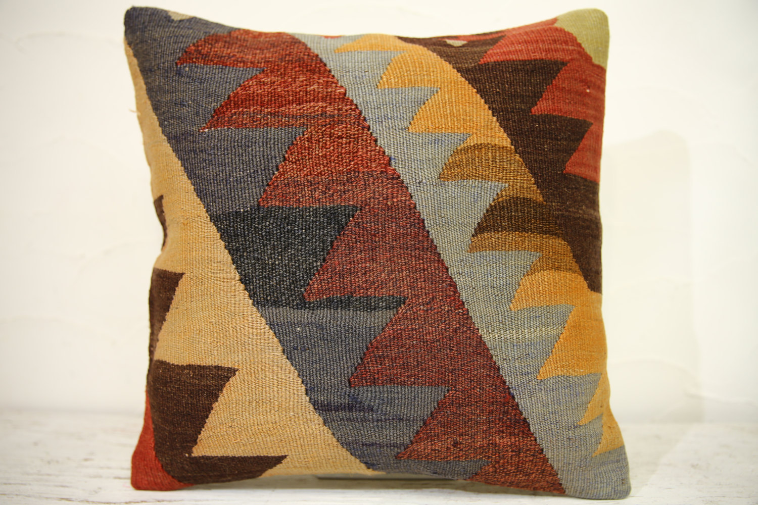 Kilim Pillows | 16x16 | Turkish pillows | 1291 | Accent Pillow,Decorative Pillow
