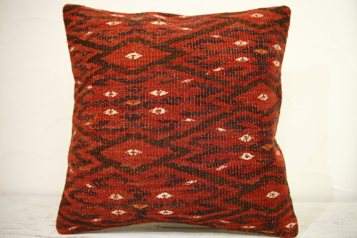 Kilim Pillows | 16x16 | Turkish pillows | 1268 | Accent Pillow,Decorative Pillow
