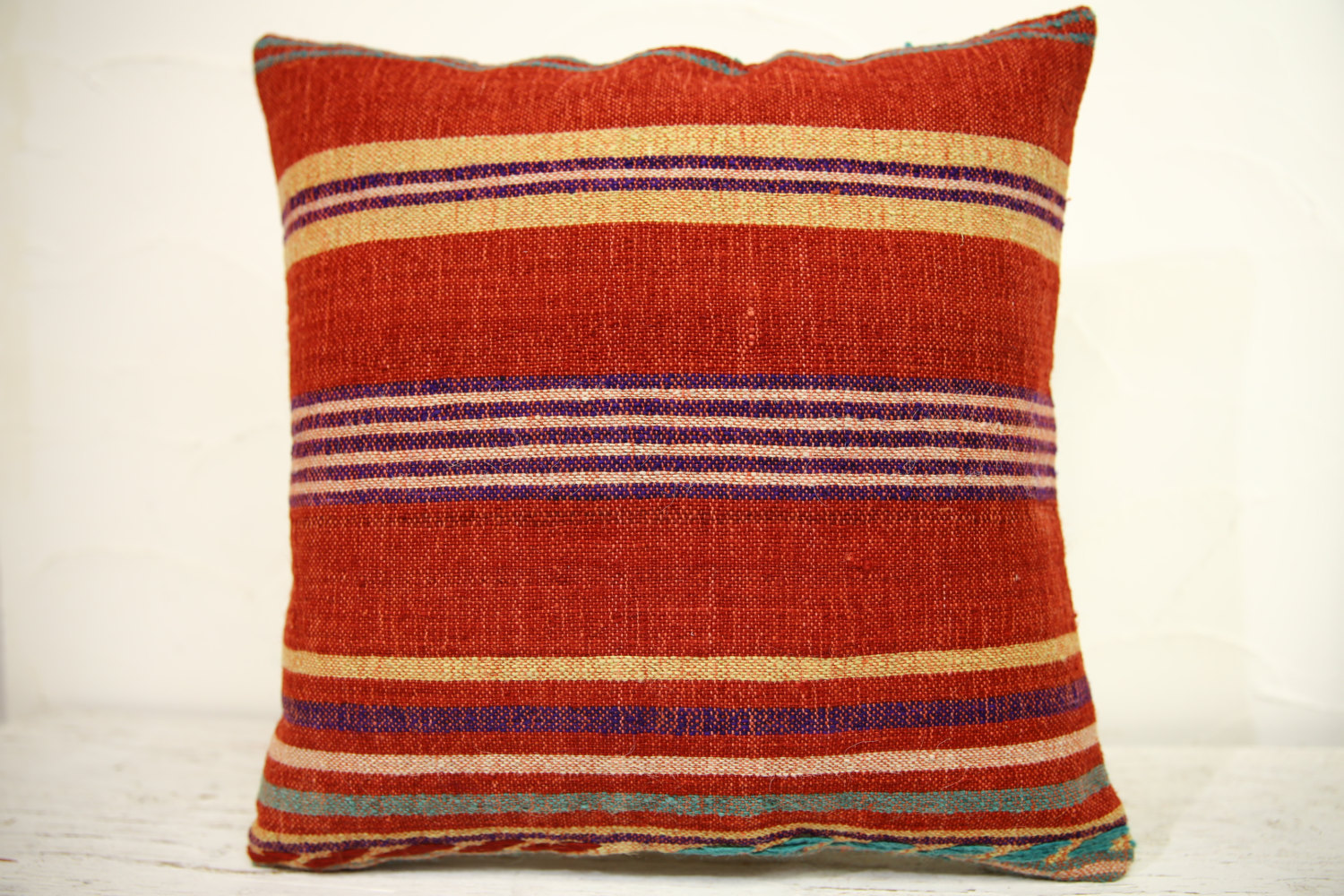 Kilim Pillows | 16x16 | Turkish pillows | 1265 | Accent Pillow,Decorative Pillow