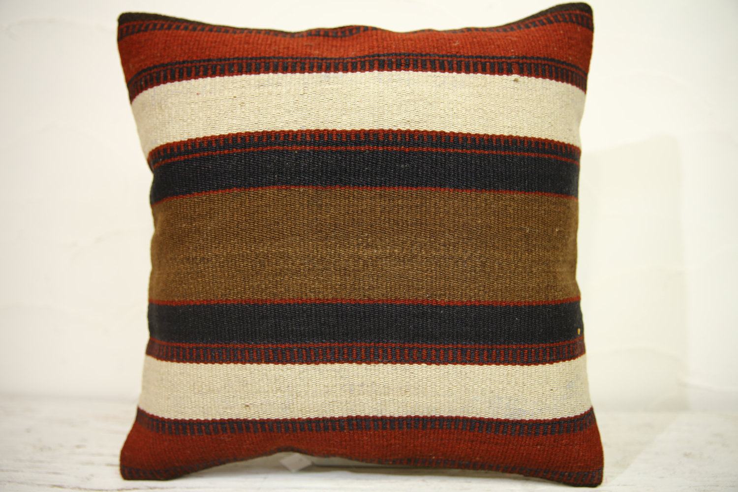 Kilim Pillows | 16x16 | Turkish pillows | 1266 | Accent Pillow,Decorative Pillow