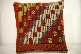 Kilim Pillows | 16x16 | Turkish pillows | 1247 | Accent Pillow,Decorativ... - $35.00