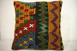 Kilim Pillows | 16x16 | Turkish pillows | 1242 | Accent Pillow,Decorativ... - $35.00