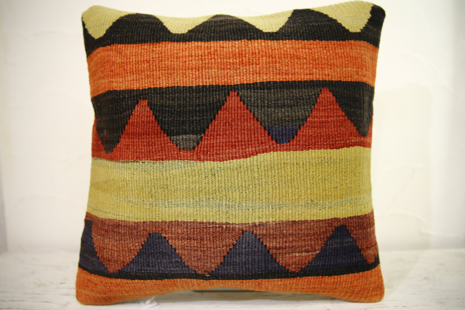 Kilim Pillows | 16x16 | Turkish pillows | 1230 | Accent Pillow,Decorative Pillow