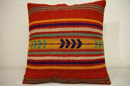 Kilim Pillows | 16x16 | Turkish pillows | 1223 | Accent Pillow,Decorativ... - $35.00