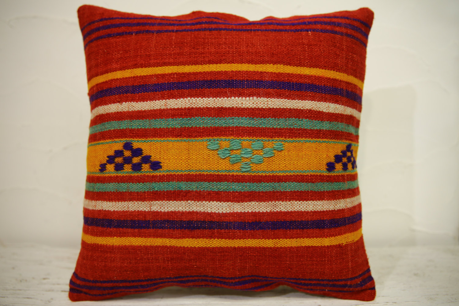 Kilim Pillows | 16x16 | Turkish pillows | 1214 | Accent Pillow,Decorative Pillow