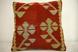 Kilim Pillows | 16x16 | Turkish pillows | 1198 | Accent Pillow,Decorativ... - $42.00