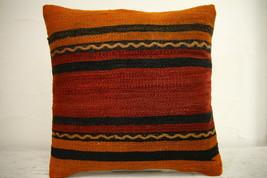 Kilim Pillows | 16x16 | Turkish pillows | 1194 | Accent Pillow,Decorativ... - $35.00