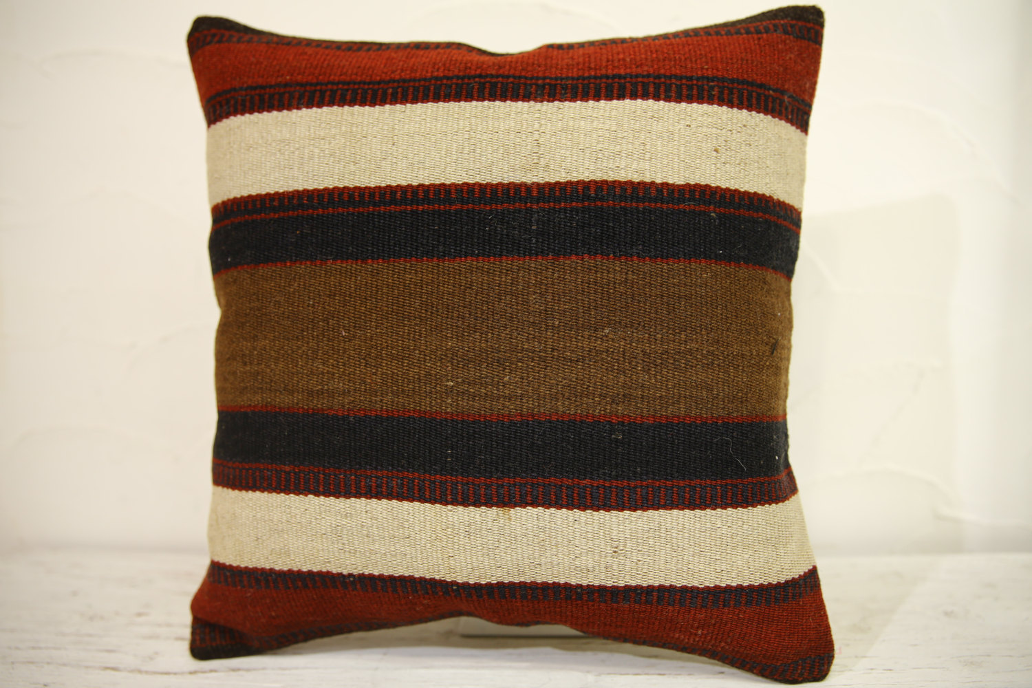 Kilim Pillows | 16x16 | Turkish pillows | 1155 | Ethnic Pillow , Kelim cushion