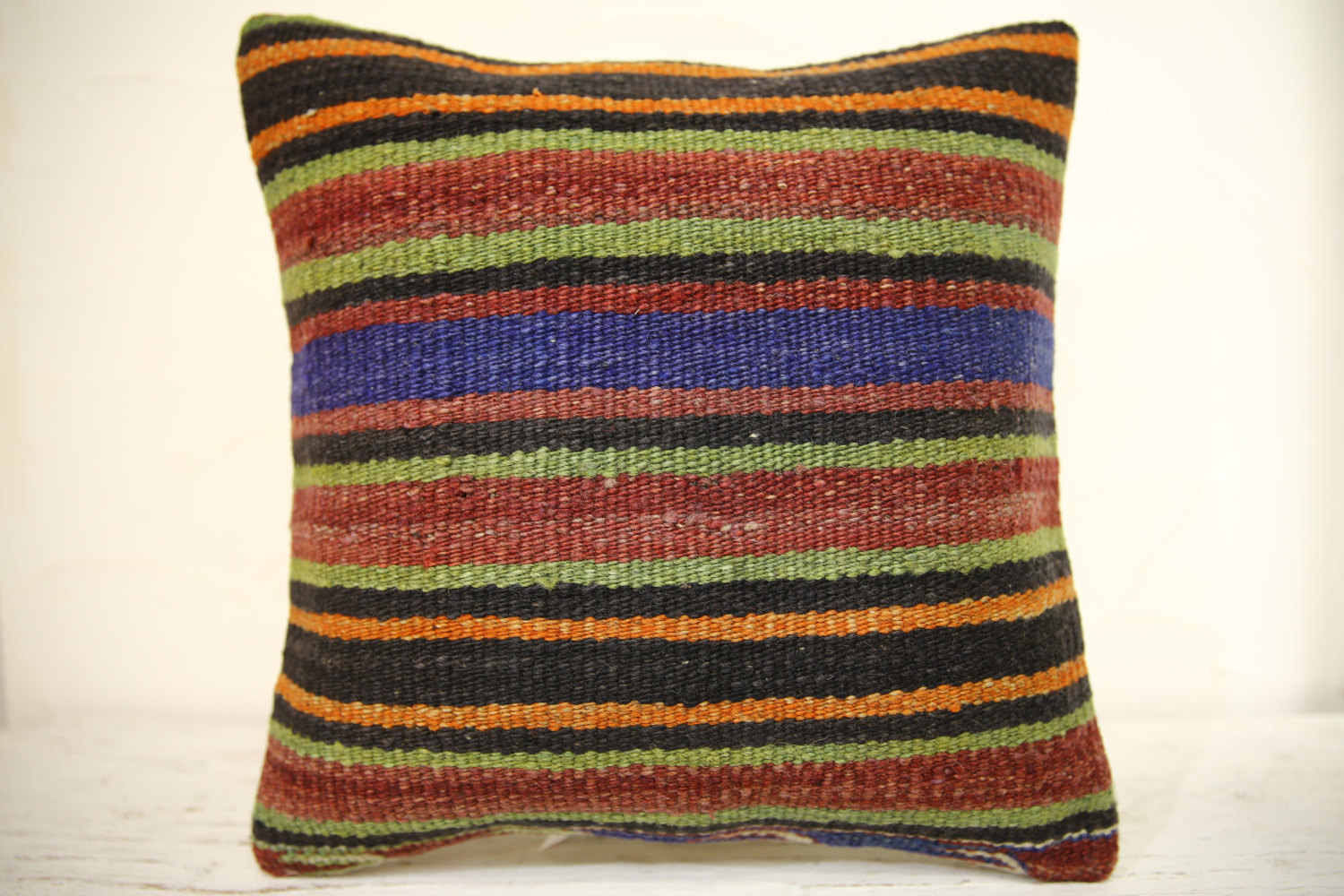 Kilim Pillows | 16x16 | Turkish pillows | 1357 | Accent Pillow,Decorative Pillow